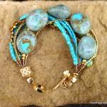 Turquoise Green Bracelet (1)