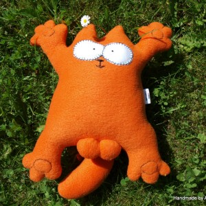 Simon's Cat Plush Toy (3)