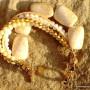 White & Beige Bracelet  (7)