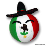 Mexicoball with sombrero