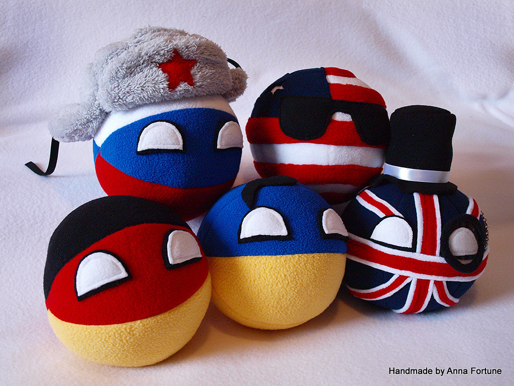 new countryball plushies ive - photo #1