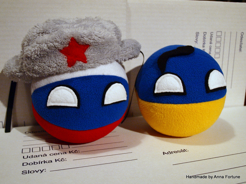 Russiaball and Ukraineball