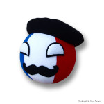 Franceball with beret