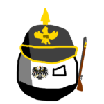Prussiaball with Pickelhaube