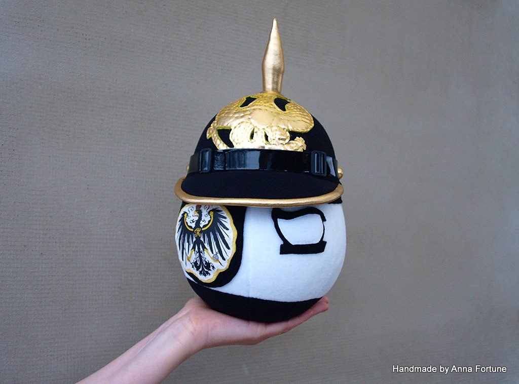 Prussiaball with Pickelhaube is Ready – Handmade by Anna ...