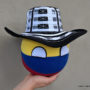 Colombiaball_With_Traditional_Hat