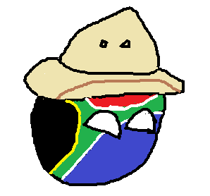 South AfricanBall With the Safari Hat