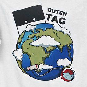 T-Shirt Guten Tag (Reichtangle)