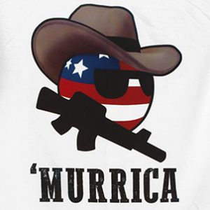 T-Shirt Murrica (USA)