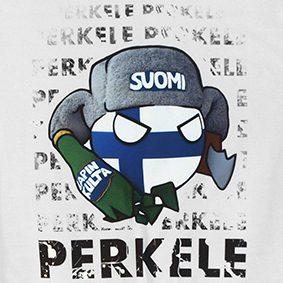 T-Shirt Perkele (Finland)