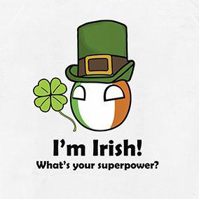 T-Shirt I'm Irish (Ireland)