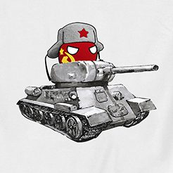 T-Shirt T-34 Soviet (USSR)